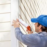 RTV silicone sealants for siding and trim